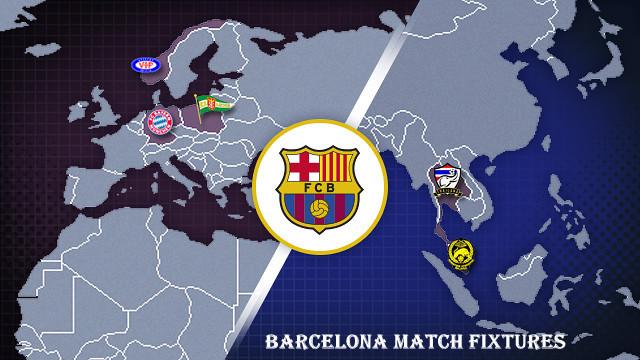 Barcelona-Schedule