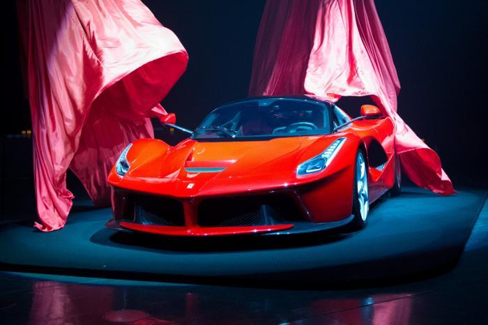 new car of Cristiano