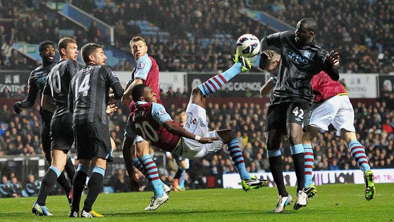 Goal Mouth Action Villa