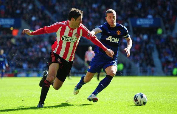 Sunderland+v+Manchester+United+Premier+League