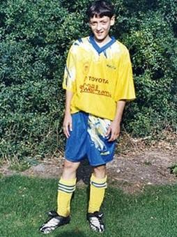 Mesut Ozil is a German
