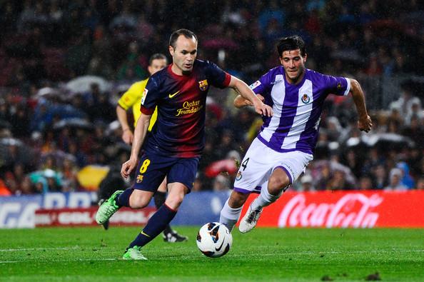 Andres+Iniesta+FC+Barcelona+v+Real+Valladolid