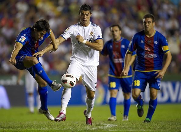 Cristiano Ronaldo Vs Levante During a match