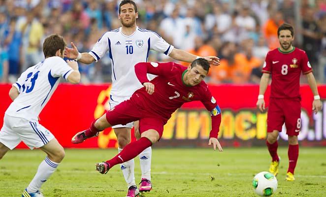 Cristiano Ronaldo,  Tomer Hemed