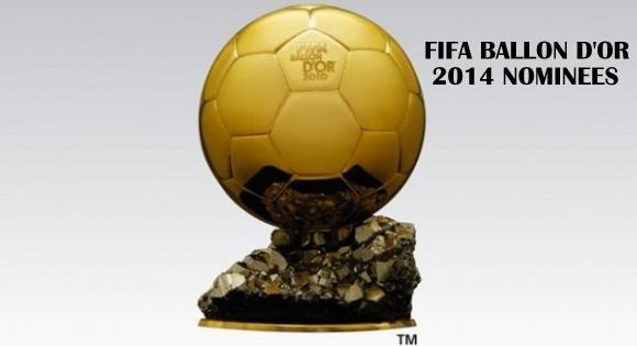 FIFA Ballon d'or 2014 Trophy