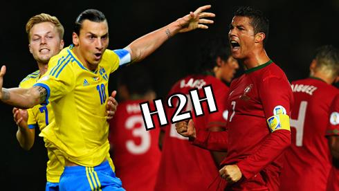Portugal Vs Sweden Head to Head