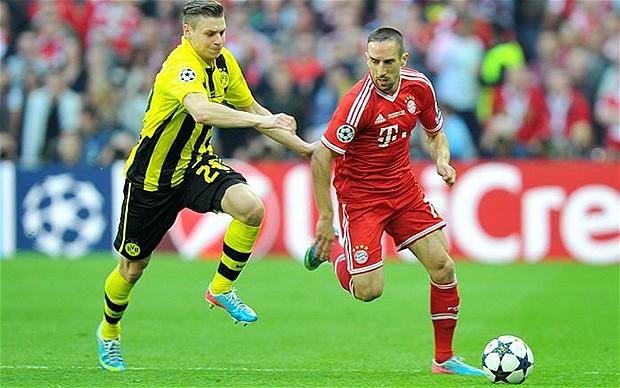 Telecast channels of Dortmund Vs Bayern Munich