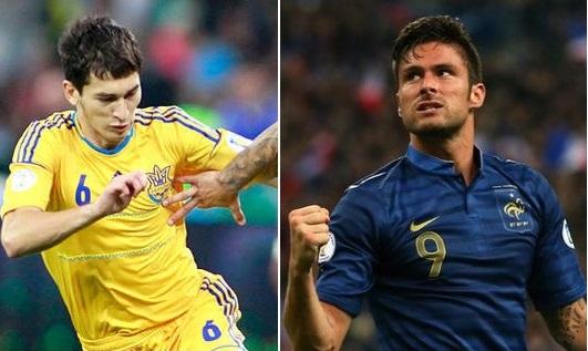 Ukraine vs France Telecast Channels & time