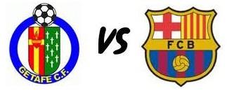Getafe Vs Barcelona Match schedule
