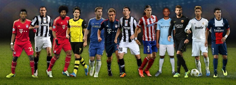 UEFA 2013 Defenders