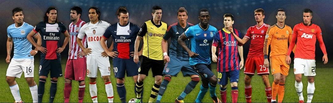 UEFA 2013 Forwards