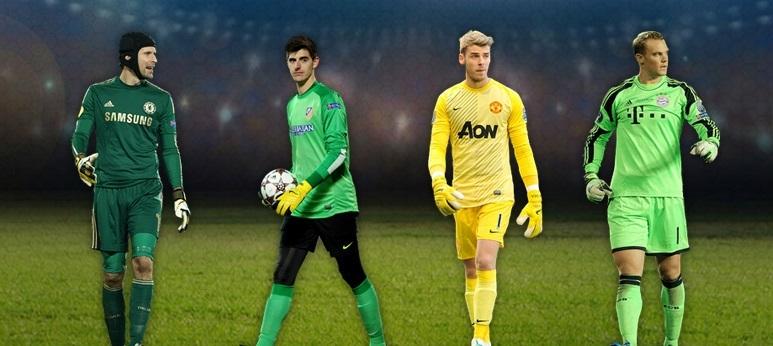 UEFA team of 2013 goalkeepers