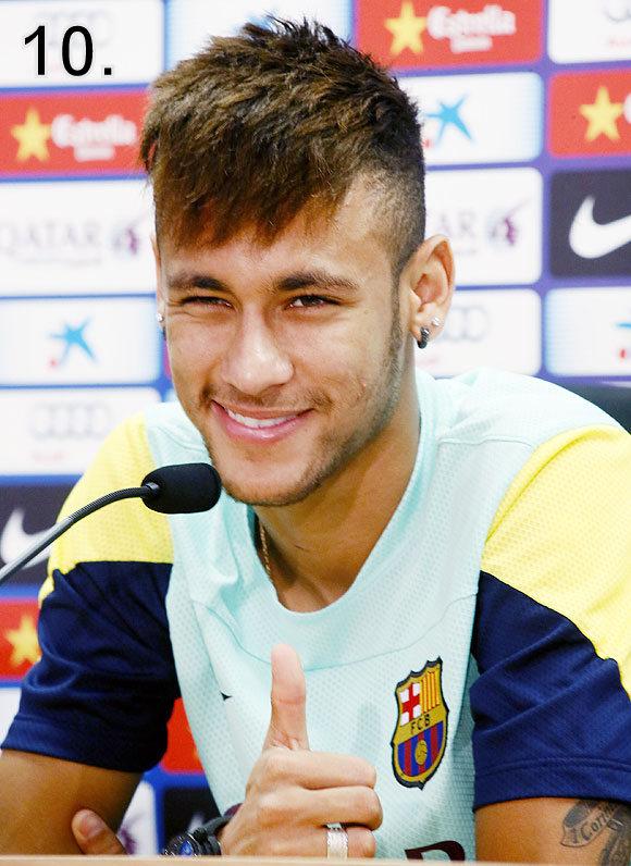 Neymar Expensive players