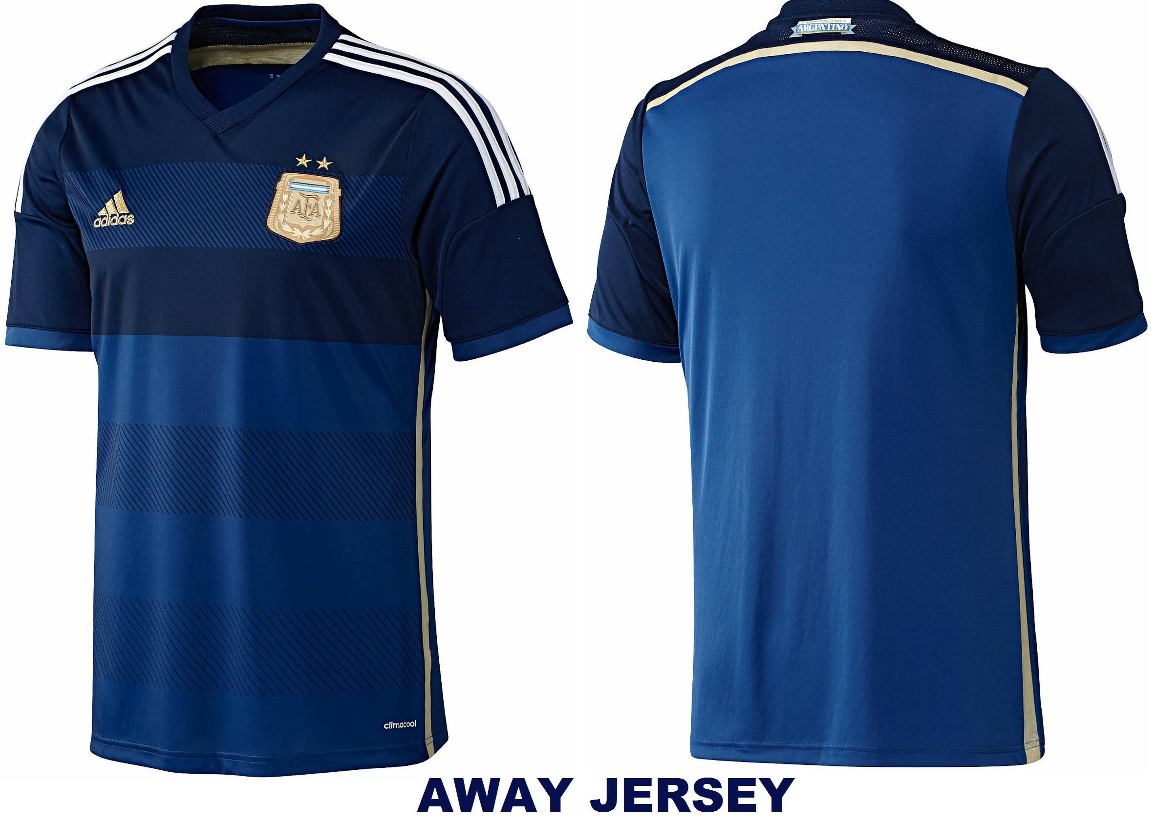 Away Jersey of Argentina