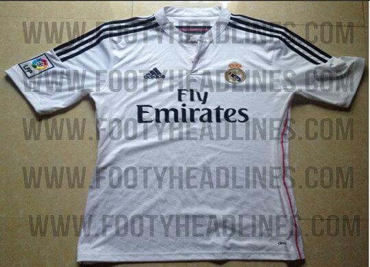 d128218d043 Real Madrid New Home   Away Kit for 2014 2015 Season Leaked ...