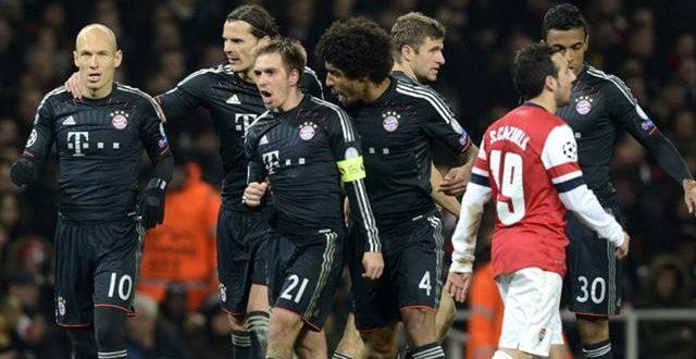 Arsenal Vs Bayern Munich 19-02-2014 Match Preview Time & Telecast Channels