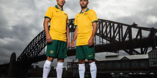 Australia New Kit 2014 World Cup Home & Away Uniform Wallpapers