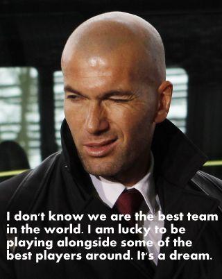 Zidane sayings