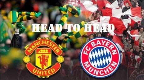 Bayern Munich Vs Manchester United Head to Head