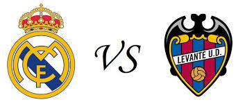 Real Madrid vs Levante schedule