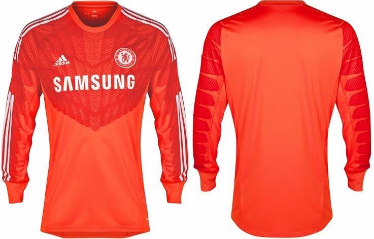 Goalkeeper kit of Chelsea