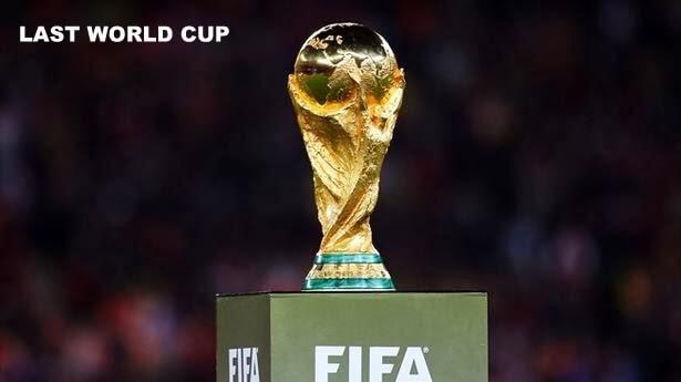 Last World Cup amount