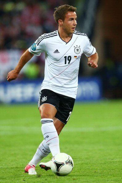 Mario Gotze Germany new talent
