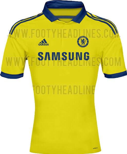 New Away kit of Chelsea