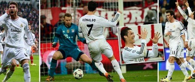 Real Madrid vs Bayern Munich Results goals video