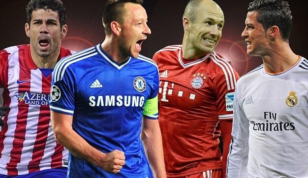 Semi final match fixtures of 2014 champions league