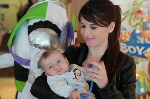 Wife of Eden Hazard Natasha & his son