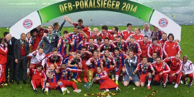 Bayern Munich vs Borussia Dortmund 2-0 DFB Pokal Final