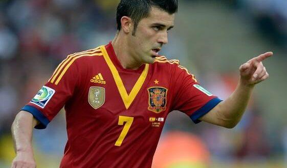 David Villa Top goal scorer of Spain national team