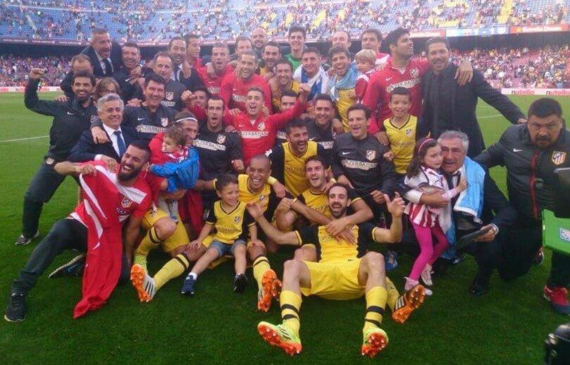 La Liga 2014-15 Champions