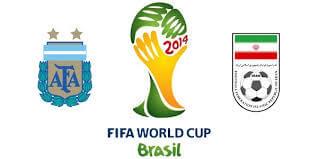 Argentina vs Iran 2014 world cup schedule