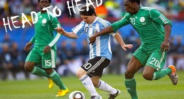 Argentina vs Nigeria head to head record