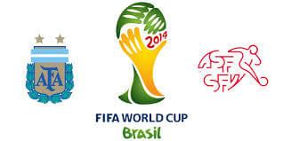 Argentina vs Switzerland 2014 World Cup schedule