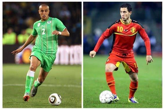 Belgium vs Algeria 2014 World Cup