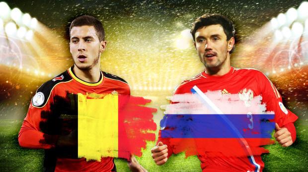 Belgium vs Russia Head to Head comparison