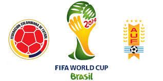Colombia vs Uruguay Round of 16