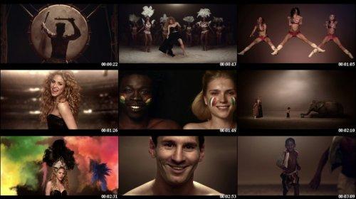 Download Shakira la la la la video of 2014 world cup