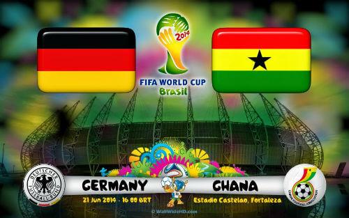 Germany vs Ghana Live Streaming 2014 Free