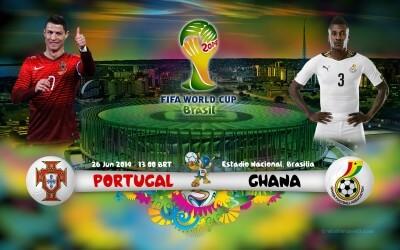Portugal vs Ghana 2014 World Cup