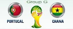Portugal vs Ghana match schedule time