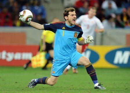Spain Iker Casillas Best Goalkeepers