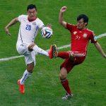 Spain vs Chile Match Images