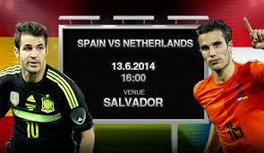 Spain vs Netherlands Schedule
