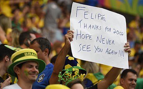 A message from Brazilian fan to team coach
