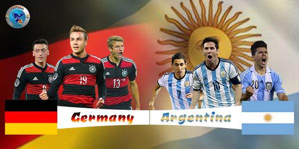 Argentina vs Germany Head to Head Stats