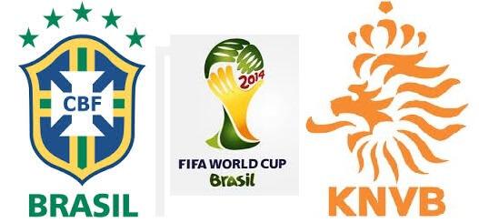 Brazil vs Netherlands 2014 Third Place match schedule